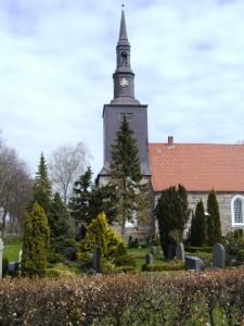St. Petri-Kirche in Ostenfeld bei Husum